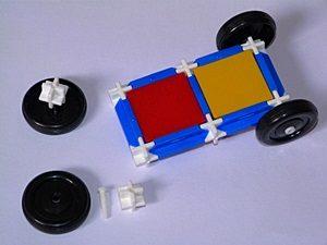 Použití kol při stavbě vozidel